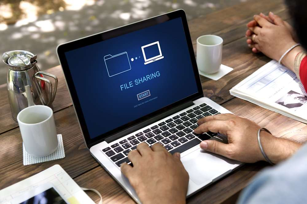 Secured File Sharing Services
